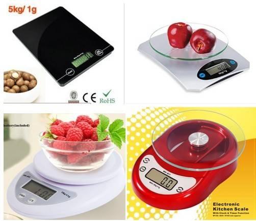 precision 5kg electronic kitchen scale