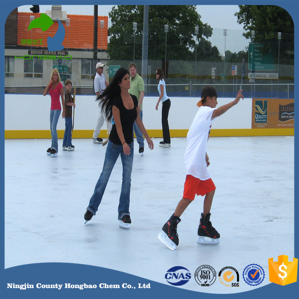 hdpe synthetic ice rink board