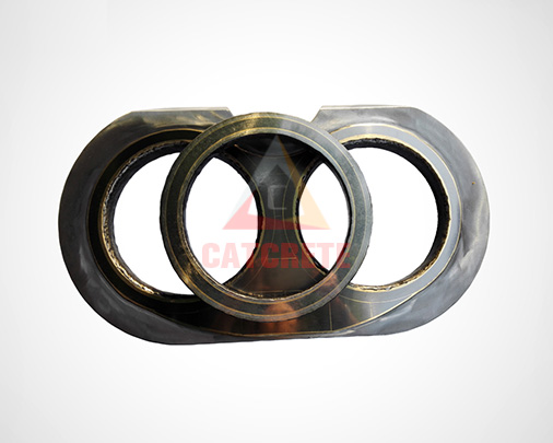 Zoomlion Concrete Pump Spectacle Wear Plate Wear Ring Cutting Ring DN200 DN230 DN260