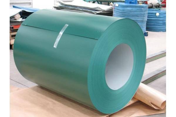 600mm width PPGI prepainted galvanized steel coil