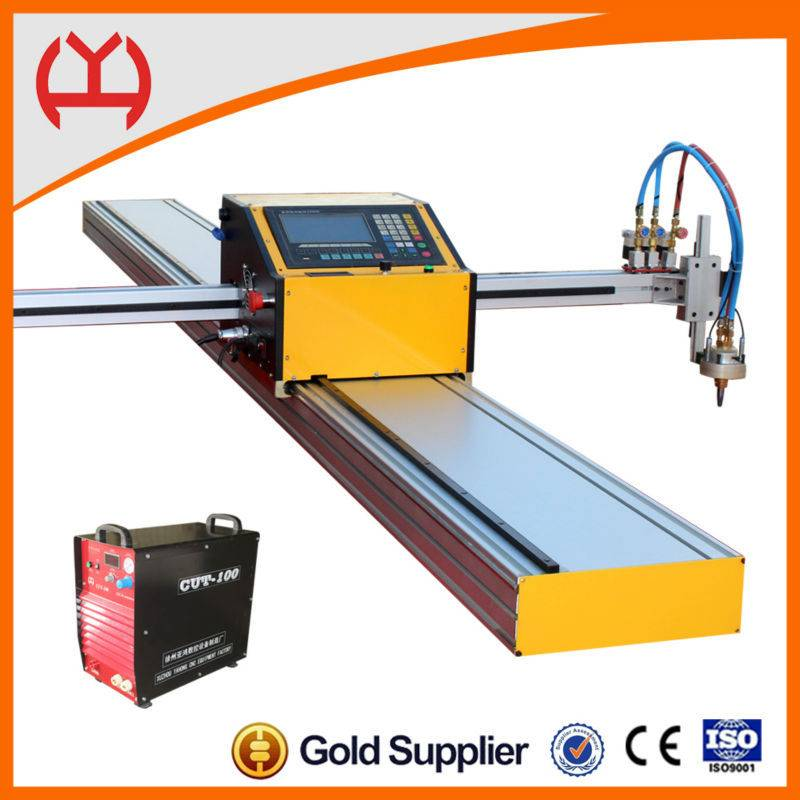 "7"" color screen portable cnc plasma cutting machine"