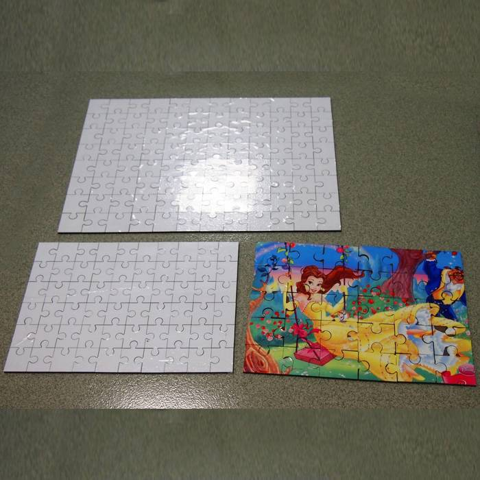 sublimation imprintables wood jigsaw puzzle