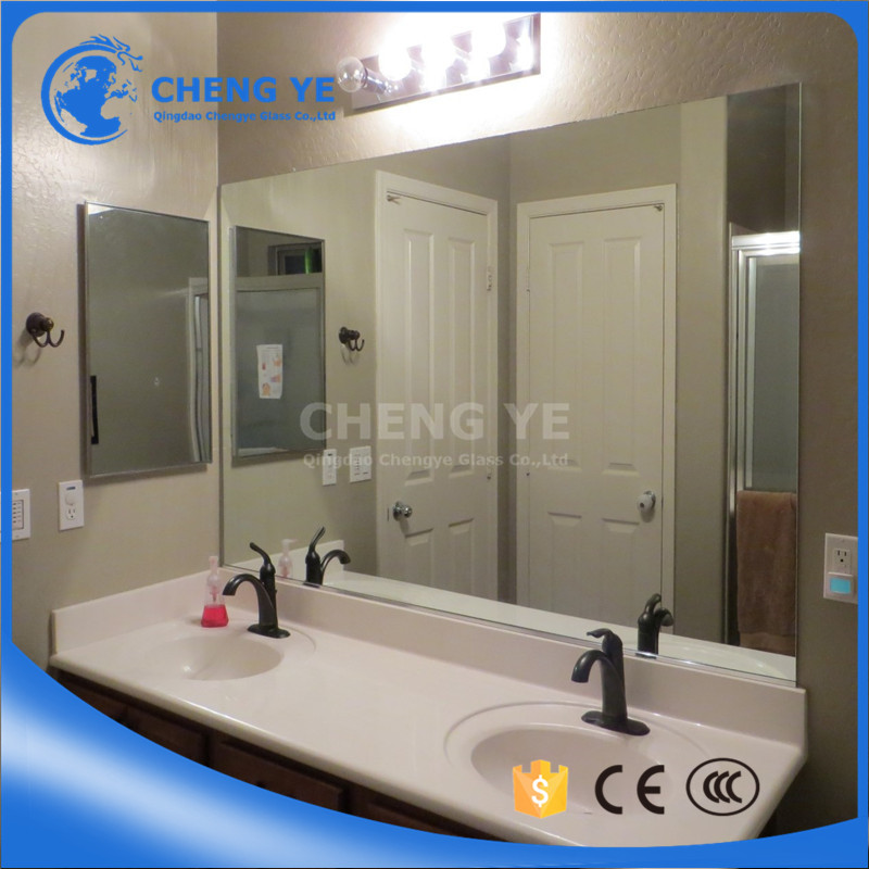 Factory Price 3-6mm Float Glass Aluminum Mirror With Various Customized Size