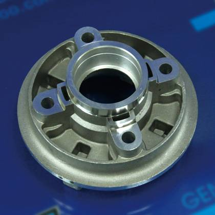 REAR HUB IRON-GENUINE MOTORCYCLE SPARE PARTS