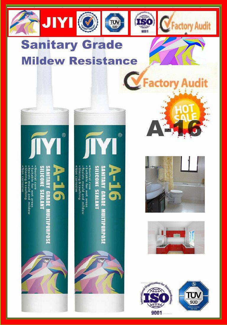 neutral silicone sealant for bothroom and kitch water resistance