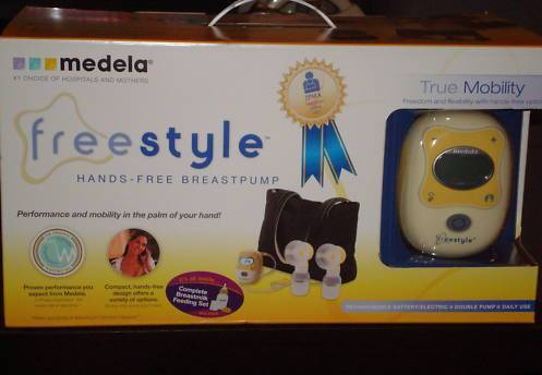 Medela Freestyle Breastpump 67060 BPA FREE