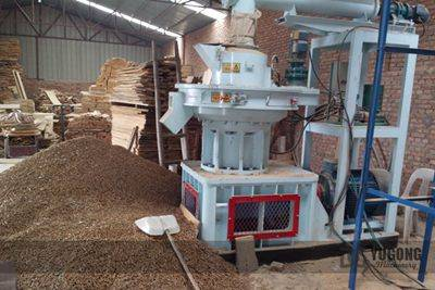 Peanut Shell Pellet Machine