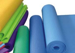 pvc pu rubber yoga mat pillow roller