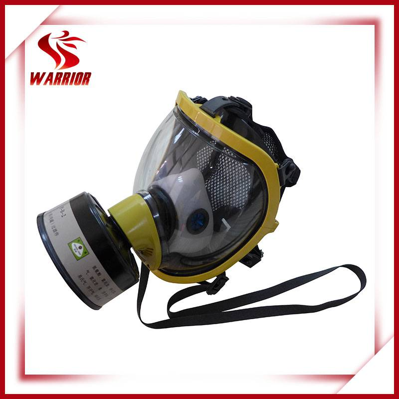 Activated carbon filter full face gas mask