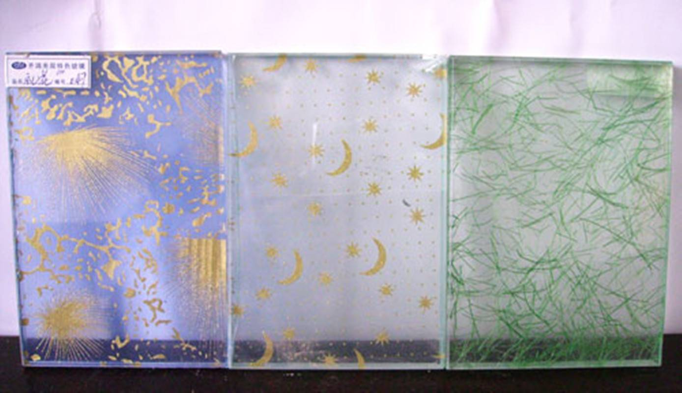 Fabric Laminated Glass for decoration