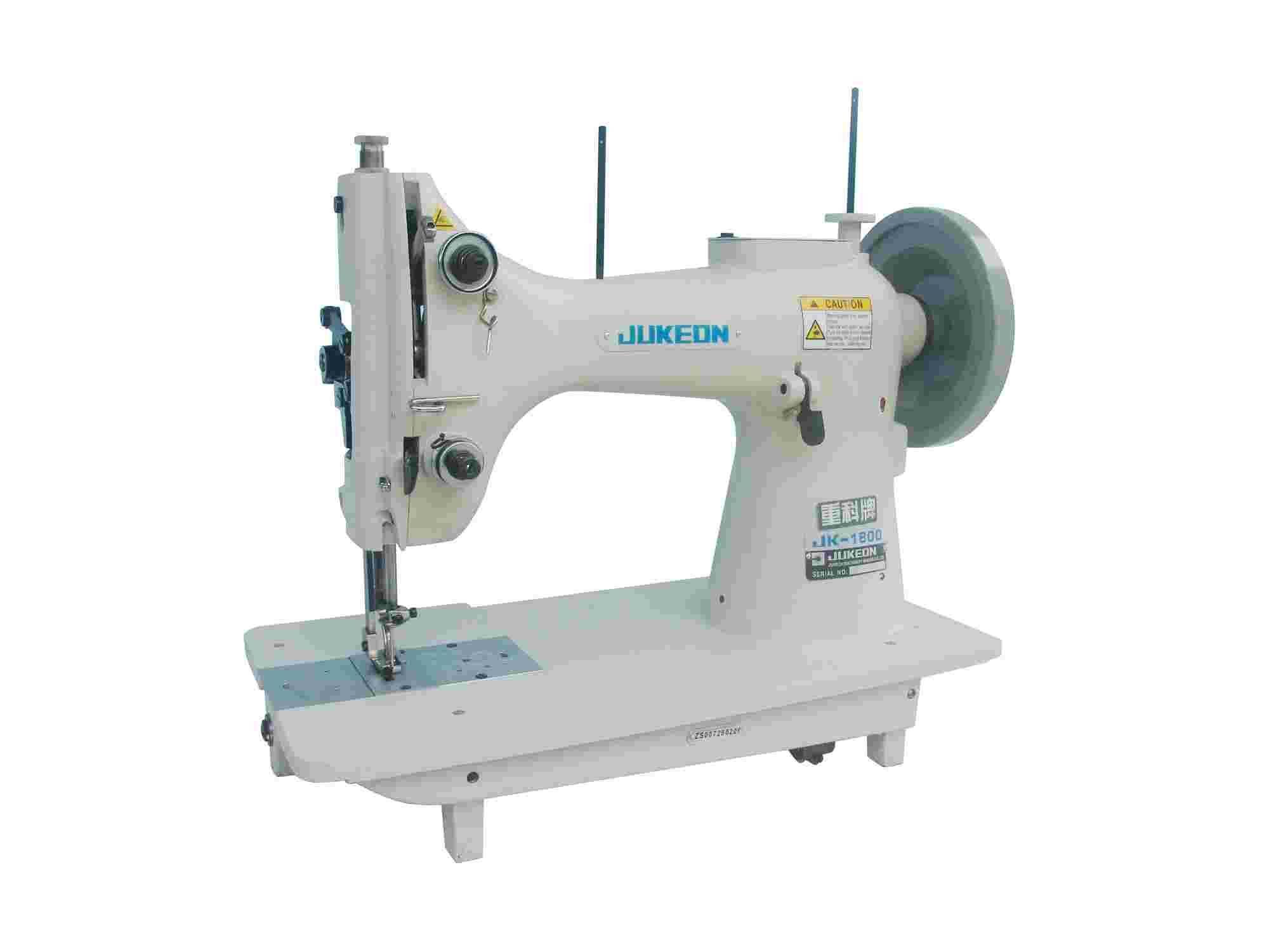 1802/1800 single needle, vertical rotary, large hook,flat-bed lockstitch sewing machine