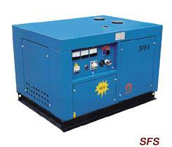 SFS Series Low Noise Single-Phase Diesel Generating Sets
