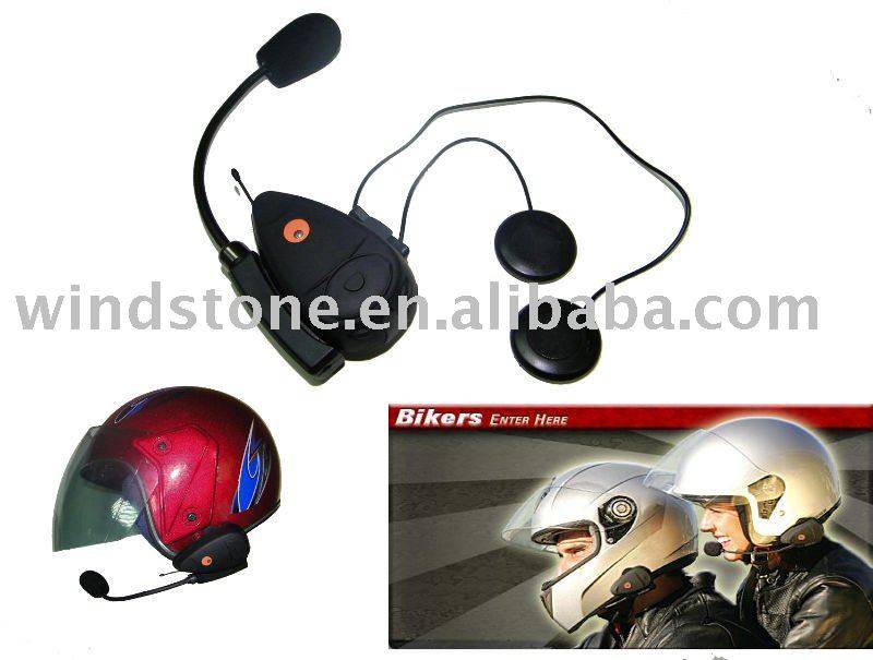 Bluetooth Wireless Motorcycle Helmet Headset Communicator(Embedded FM Radio) BT-9802