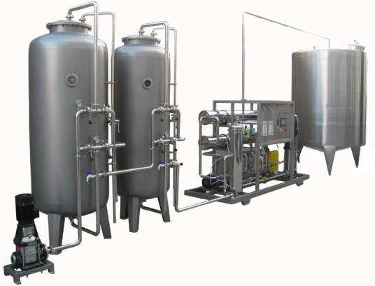 4000L/H RO Water Treatment Machine