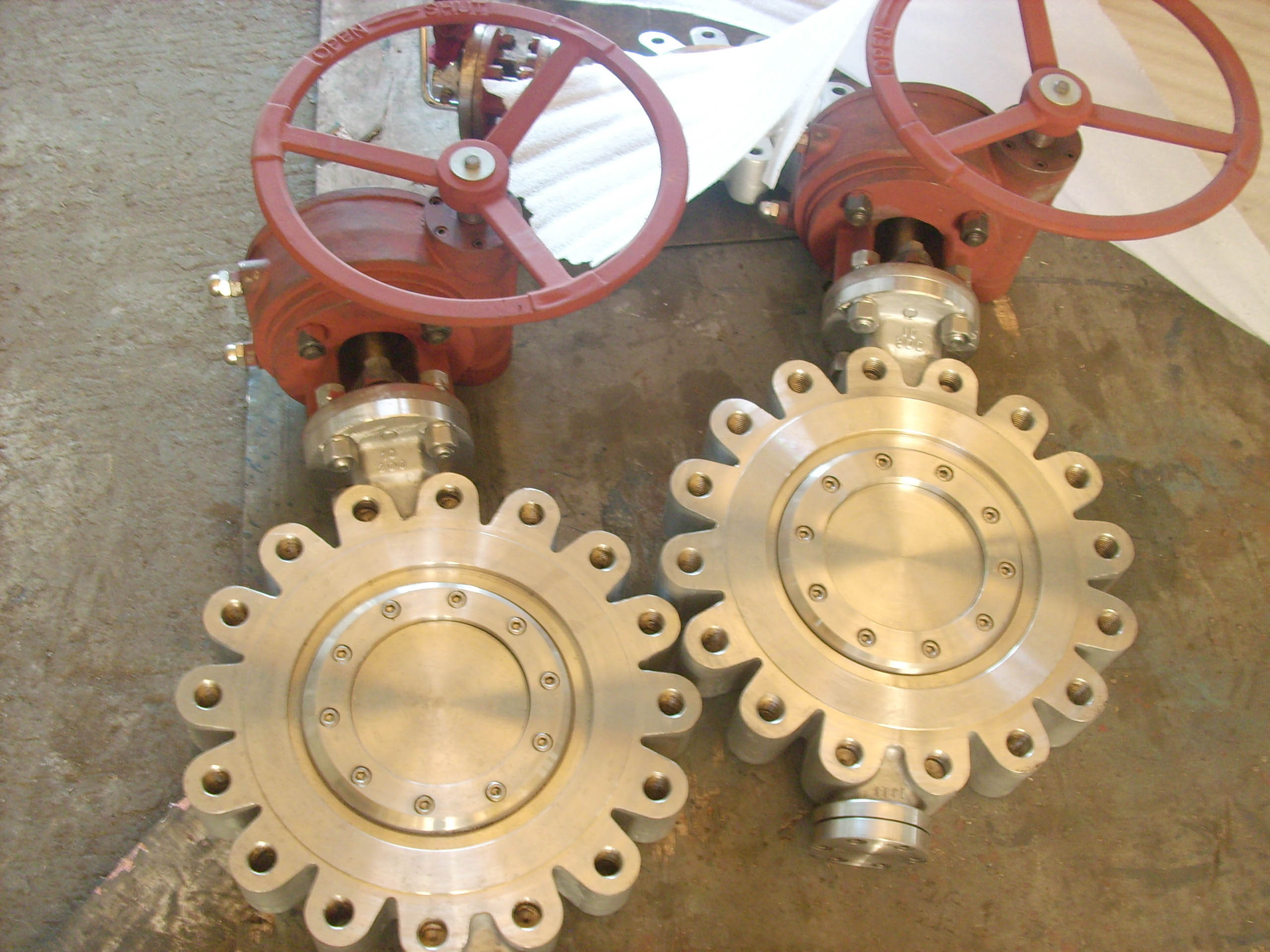 Radiator Butterfly valve for power transformer