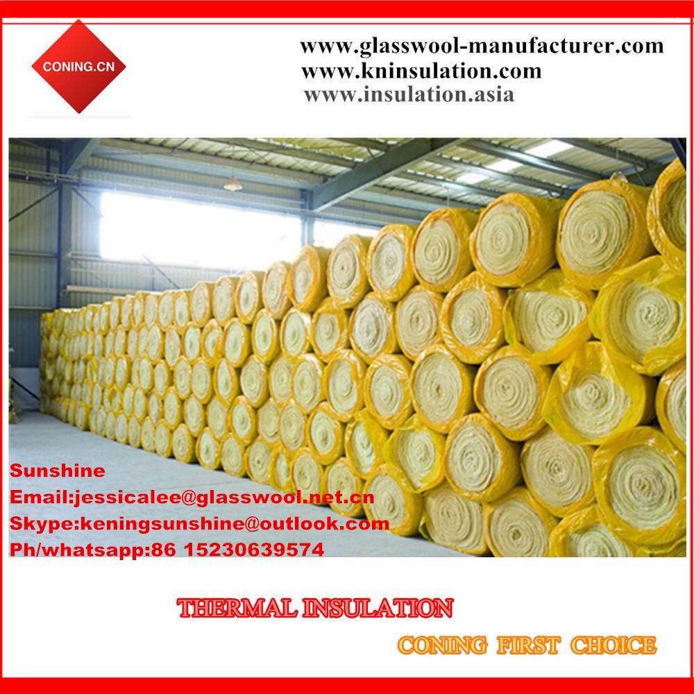 glass wool price/insulation glass wool roll