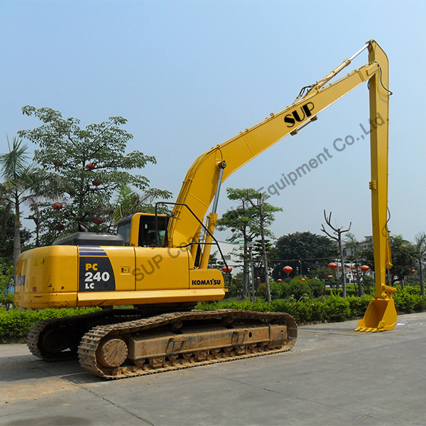 High quality Long reach boom/front for excavator
