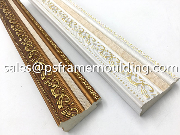 synthetic wood PS picture frame mouldings
