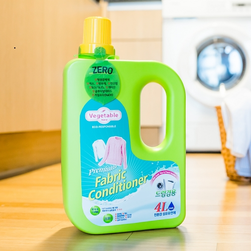 [Vegetable HOME] Eco-friendly Liquid Fabric Softener 4L
