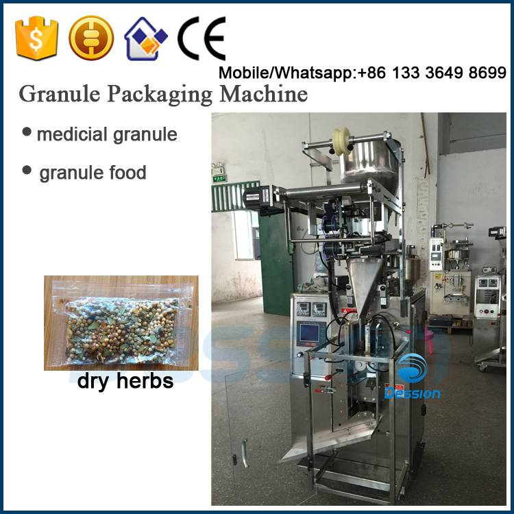 2-100g small Scale Herb weighing packaging machine