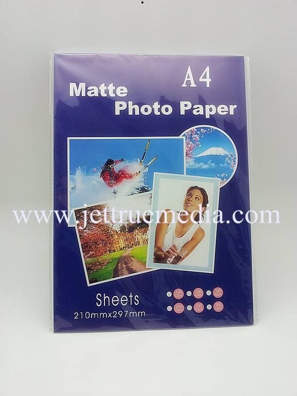 105g single-side matte photo paper for inkjet printer
