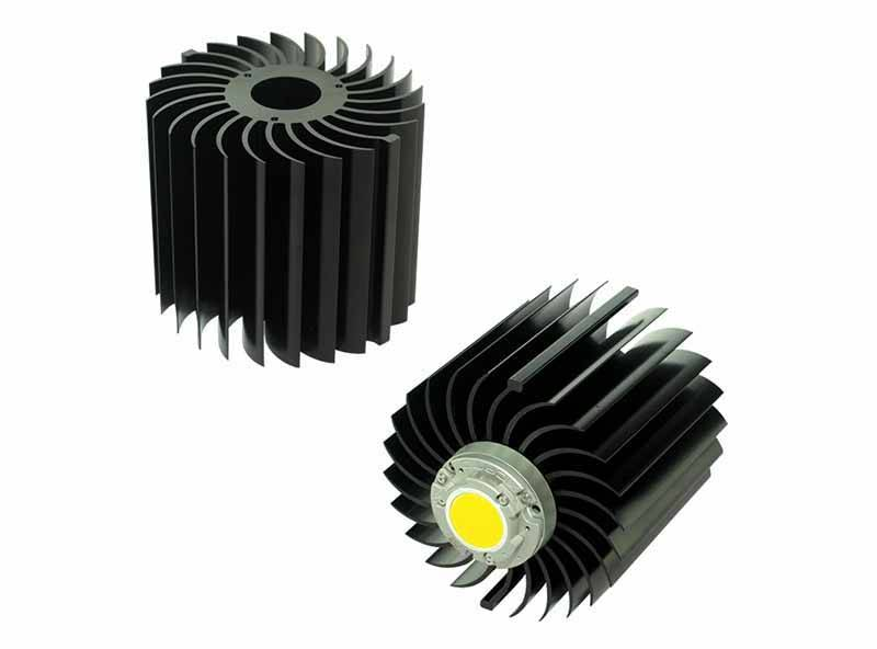 Xicato XSM LED module COB passive LED star heat sink ø99mm XSA-27-M3-B-N