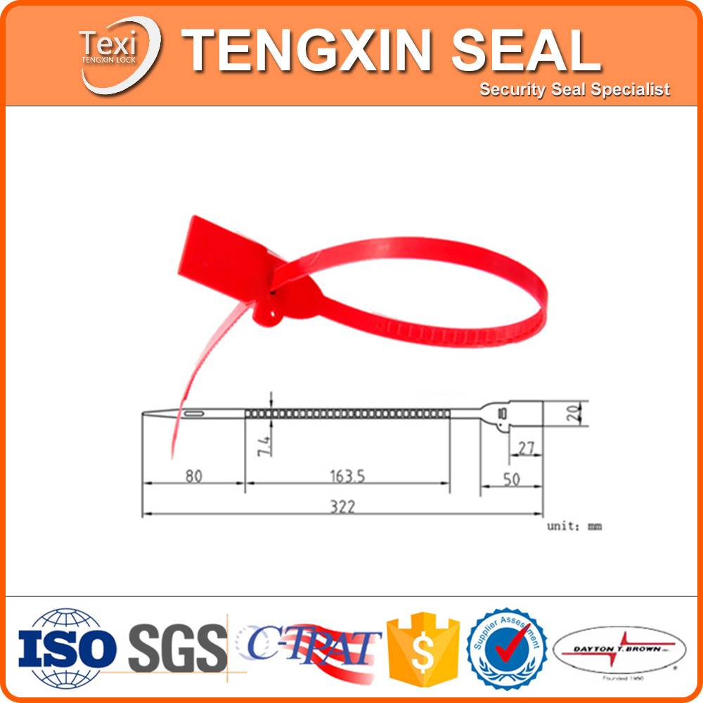 standard mechanical plastic seal for courier service