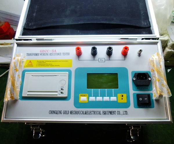 DC Resistance Meter Winding Resistance Tester with micro printer