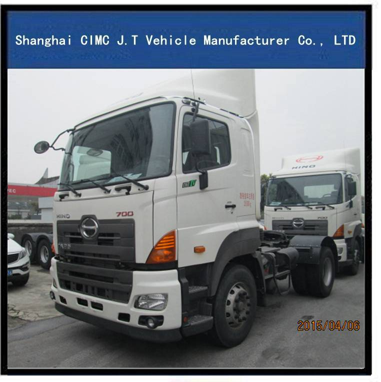 Hino Tractor Truck, Tow Tractor, Towing Vehicle