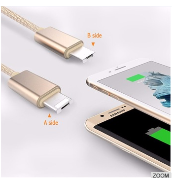 2 in 1 usb cable Phone Charger Cable
