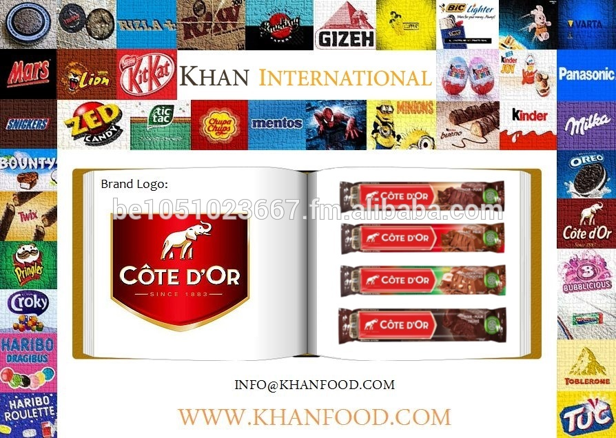 Cote D'or - Cote D'or Chocolate Single Bars - Cream - Nuts - Assorted - Praline