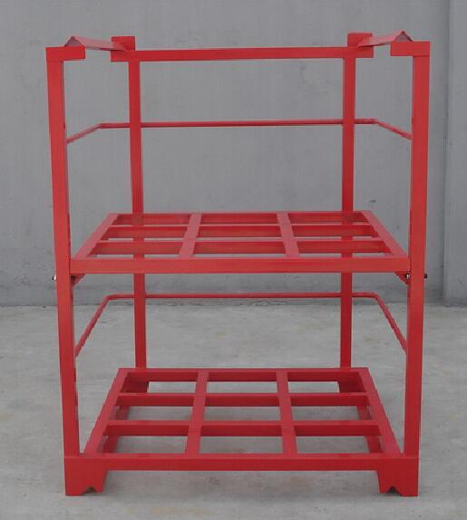 Heavy duty warehouse steel stacking rack