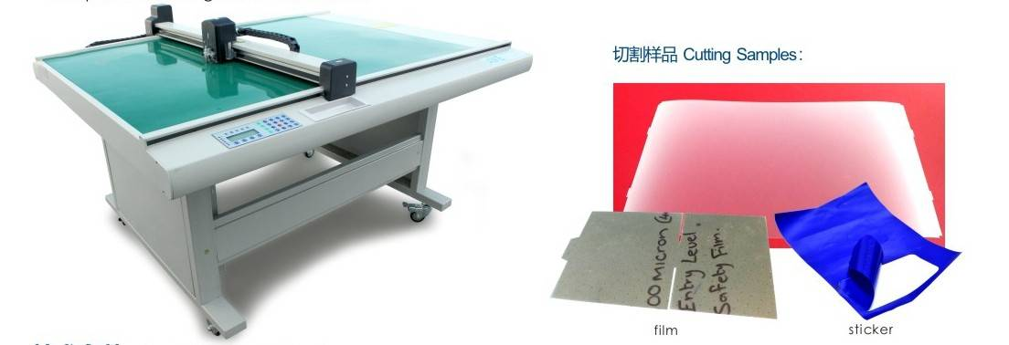 DCG70 electronic die cutting machine with pressure control and laser position