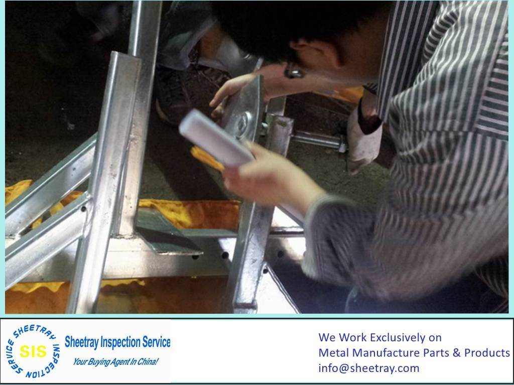 Sample Production Inspection (Steel Structure)