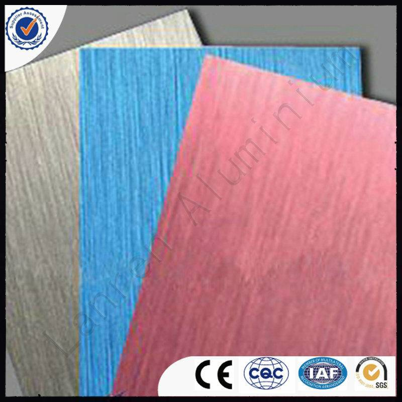 PE/PVDF coated aluminum composite panel for exterior wall