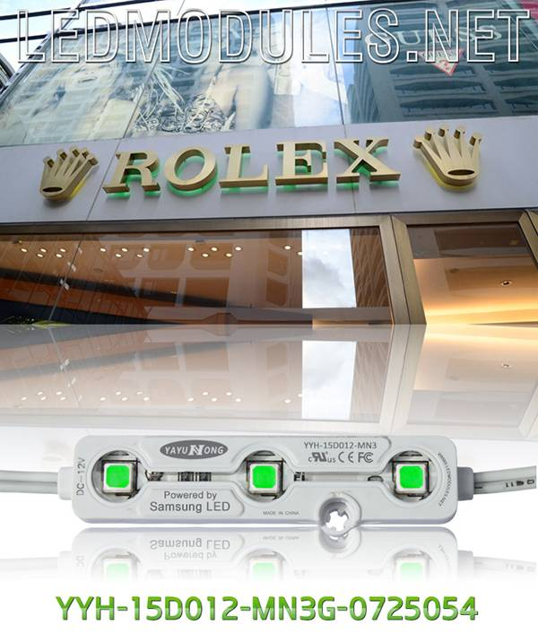 SMD waterproof led injection module for sign, signage and channel letters