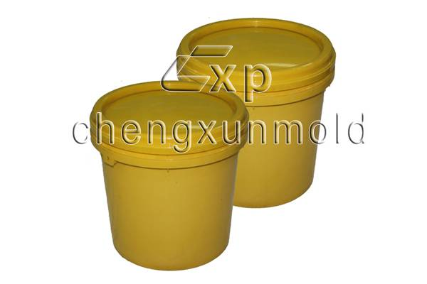 plastic storage bucket/painted buckets/paint barrels/Litre plastic paint bucket mould/paint bucket m