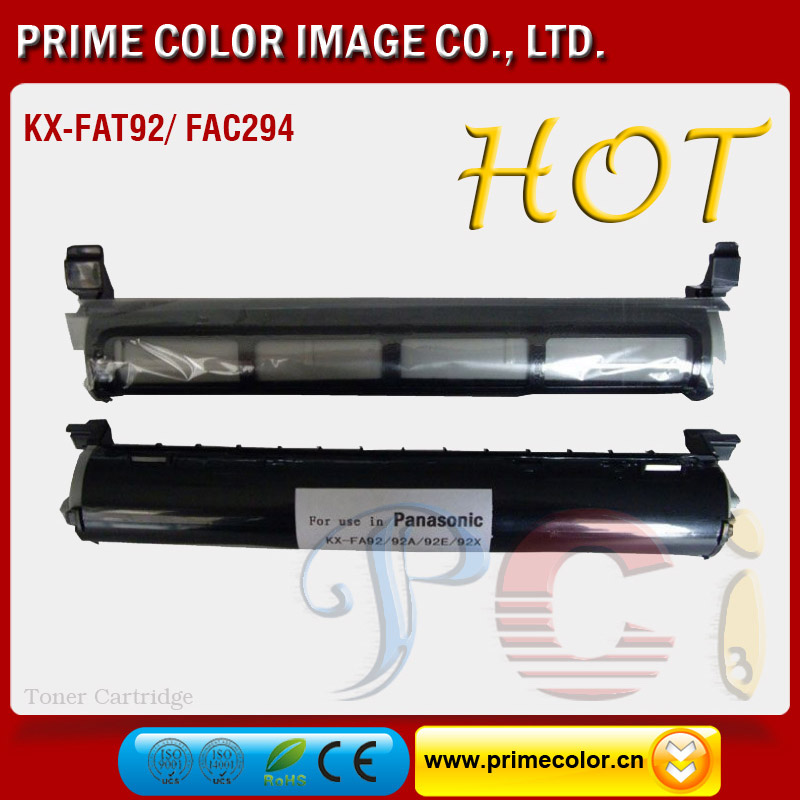 Black Toner Cartridge for Panasonic KX-FAT92 New Build