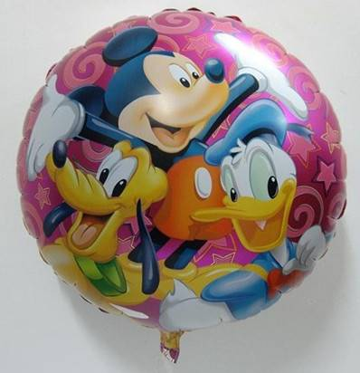 mickey and minnie mouse foil balloon