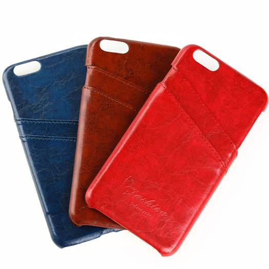 2015 hot sale classic PU leather cellphone cover for Iphone for Samsung