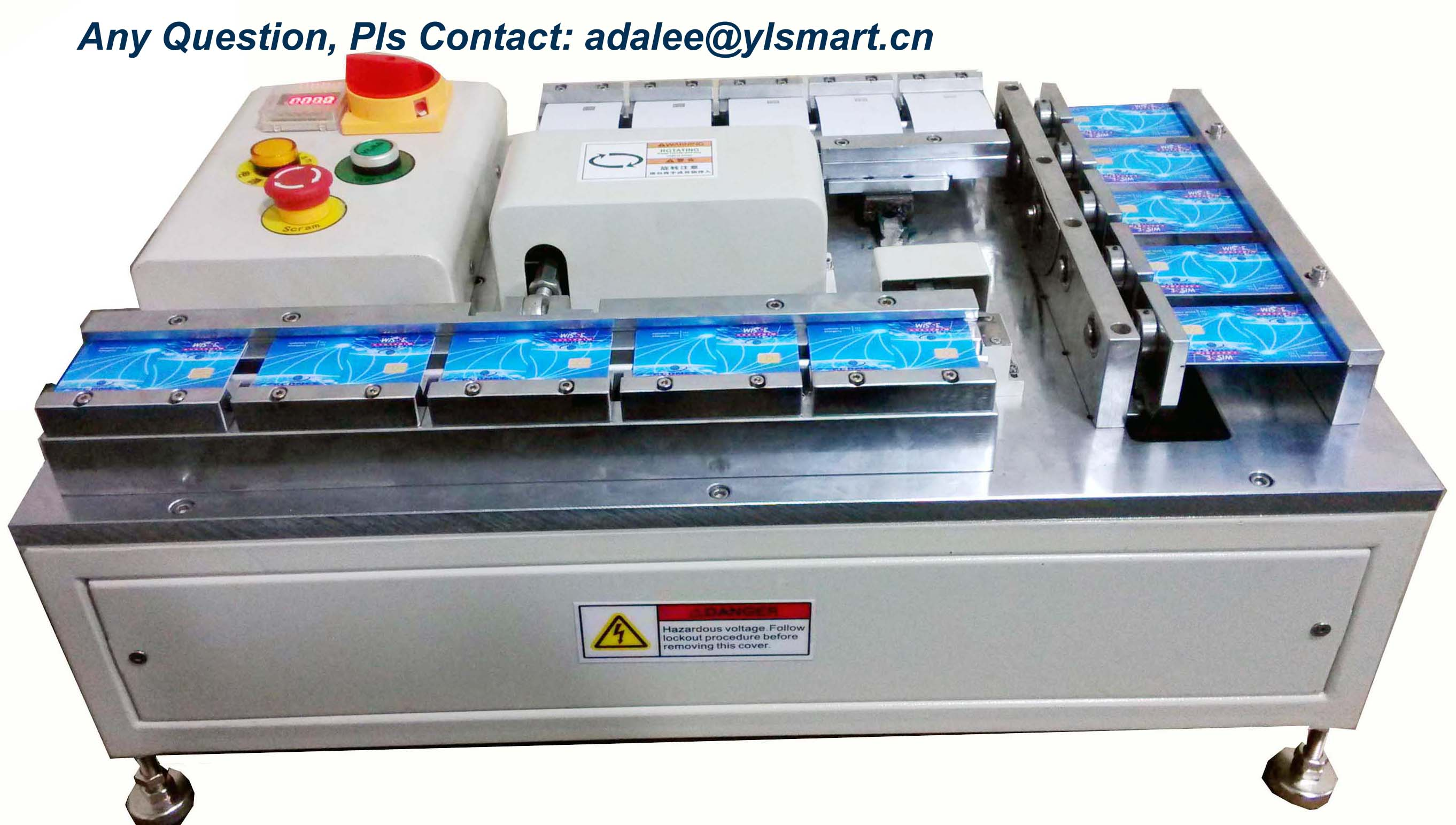 Contact IC Card Bending and Torsion Tester YBT-1