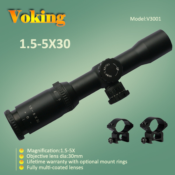 Voking 1.5-5X30 magnifier scope with your own APP