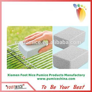 glass pumice sponges for BBQ grill scouring pads