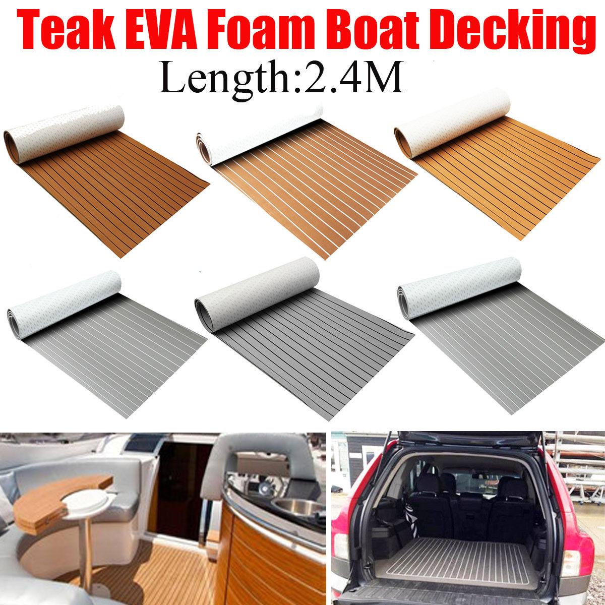 "new Marine Boat Flooring EVA Foam Yacht Teak Decking Sheet Carpet Floor Pad 94""x 35"""