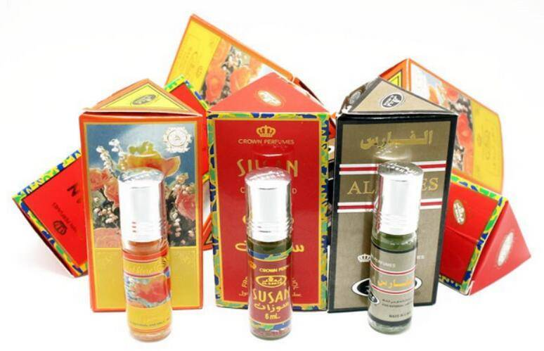 Popular 6ml Perfume Fragrance Roll-on bottle For Arabic