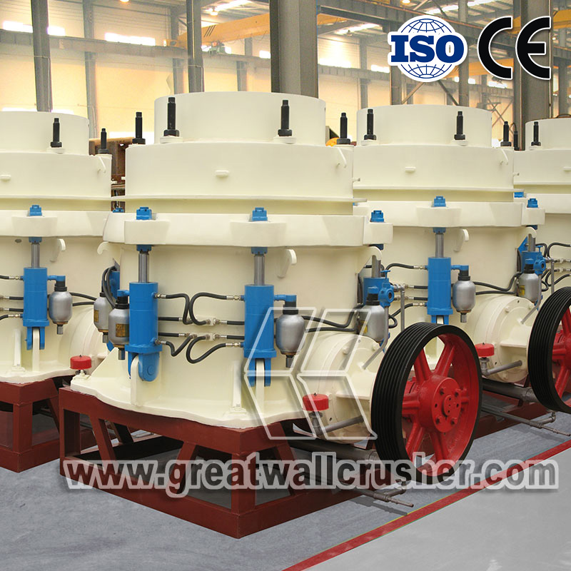 cone crusher price for 80 t/h pebble crushing plant Ecuador
