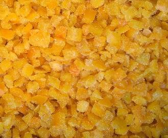 frozen yellow pepper diced 1010mm frozen vegetables supply from China