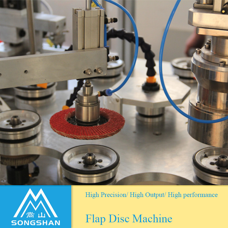 Semi Automatic Flap Disc Making Machine