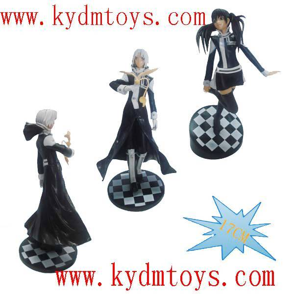 MOQ(USD300) 17cm D-Gray Man action figure collectible toys (set) ky1119
