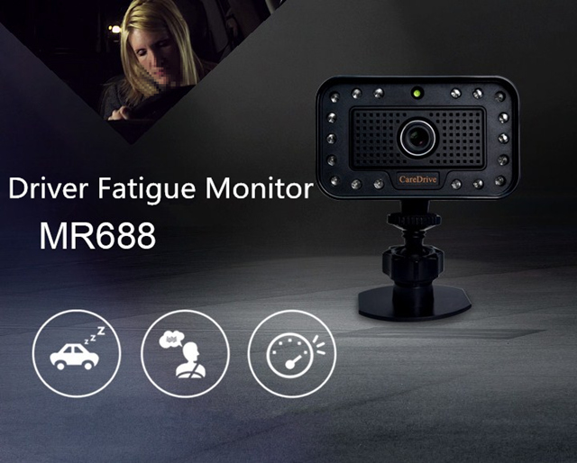 Driver Fatigue Distraction Alarm Monitor System warning device MR688